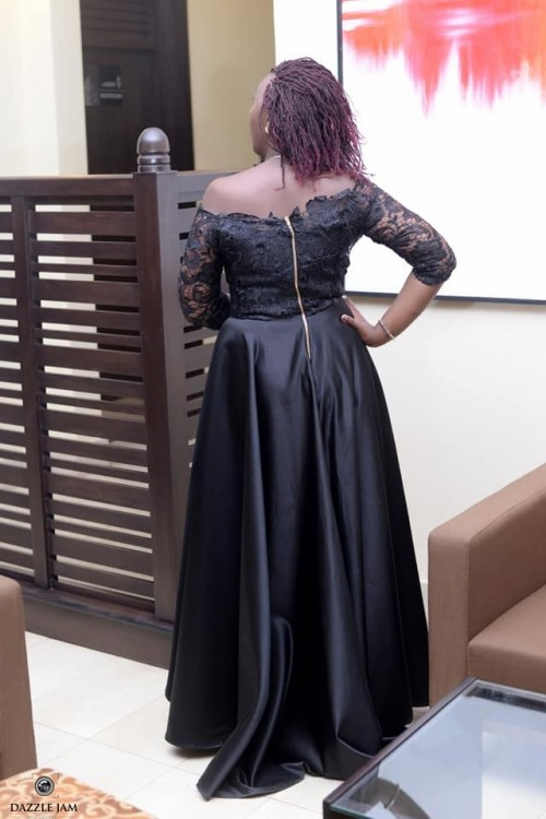 Lovely black party dress by Bloodworth