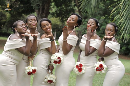 Julie's bridesmaids that slayed, shots powered by Agapix Photography