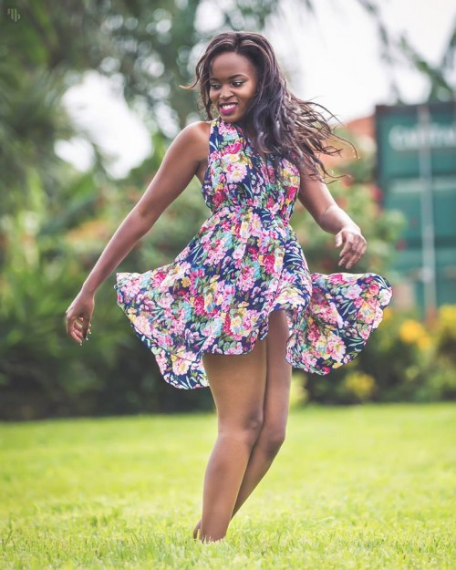 Ugandan female model Faith, shots captured by Mohsen Taha Photography