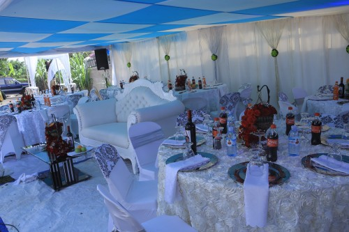 Inspiring traditional wedding ceremony decorations by Rossy Roots Events