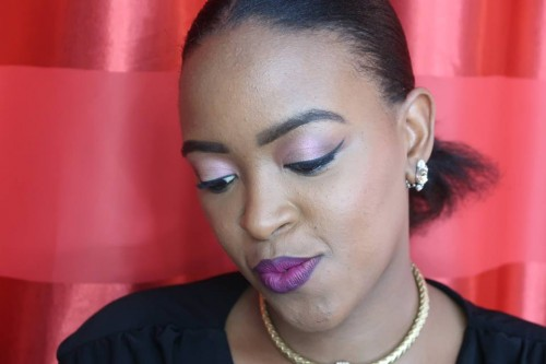 Kahimakazi's beautiful face beat by Glamqueen Makeup Studio