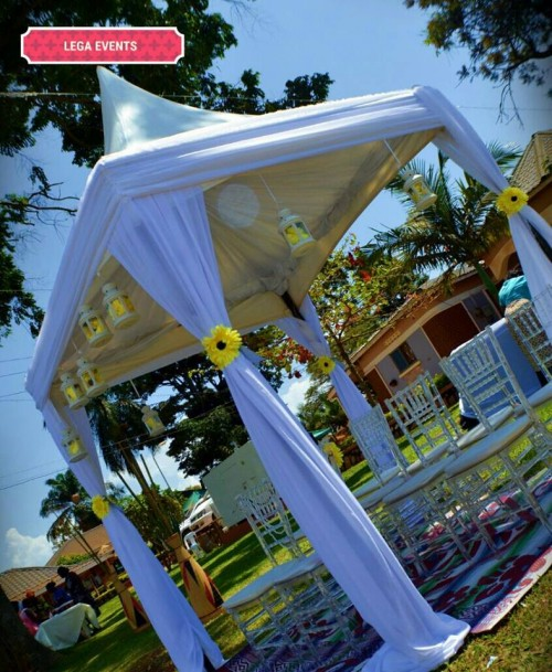 A gazebo done by Lega Events
