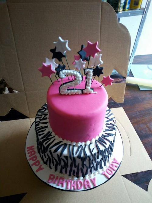 Tory's birthday cake baked by Danse Pastries Uganda