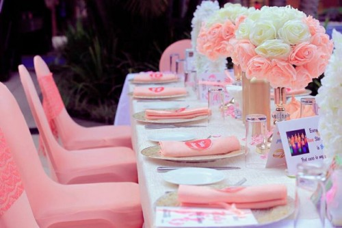 Molly's Baby Shower : White & Pink Touch