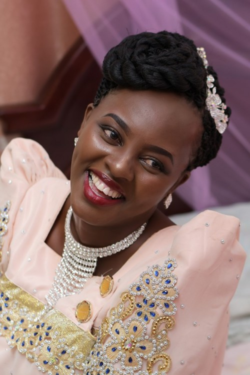 She was a such a beautiful bride, Kukyala shots by Willtom Media
