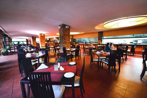 Restaurant section at Kabira Country Club