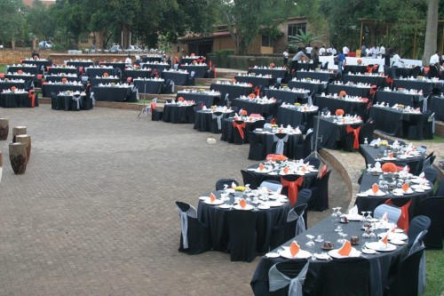 Ndere Troupe outdoor venue