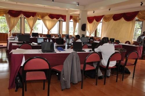 Conferences room facilities at Hotel International in Muyenga