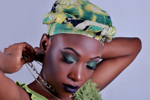 Brilliant makeup by Thenameis.Usher Makeup Artistry