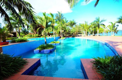 Poolside Wedding Reception Venue at Speke Resort Munyonyo