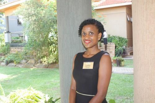 Lydia, a member of Usher's Palace