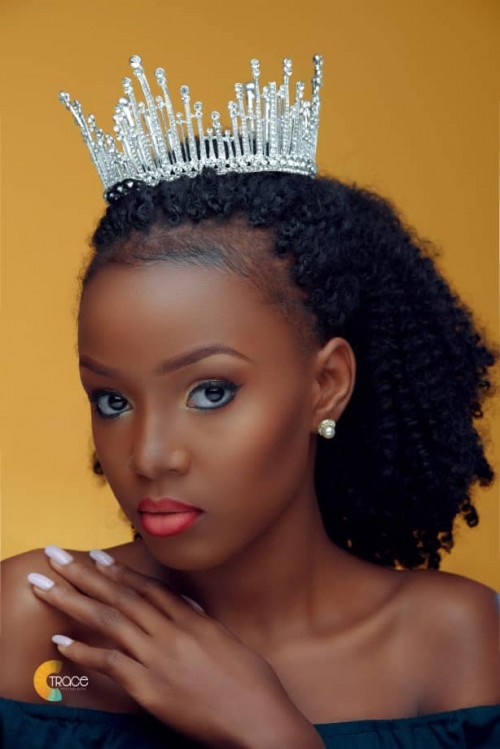 Haddie Lubanga glowing with beautiful makeup by FaythPresh