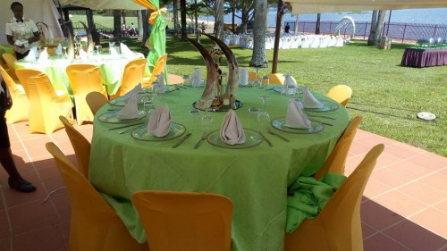 Event Decoration by Crystal Events Uganda
