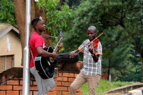 The Tabs Uganda during a practice session