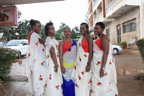 Ladies clad in nice mishanana and ready for a gushaba event, shots by Frame Media