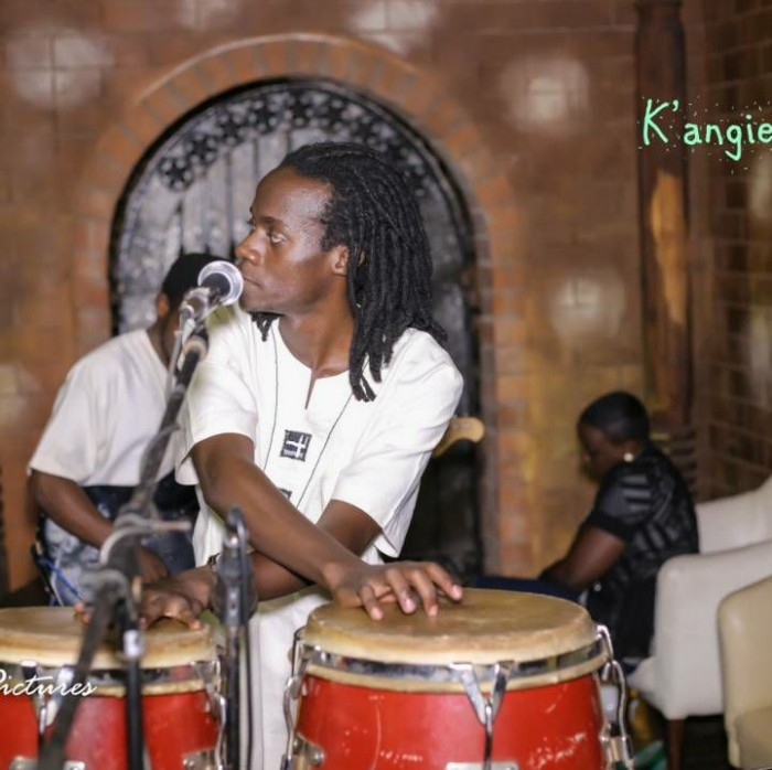K'angie Band drummer doing his thing