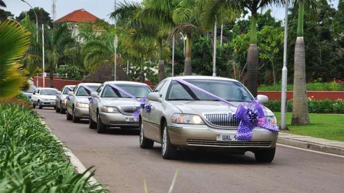 A fleet of bridal cars, Moonlight Wedding Consultancy Solutions