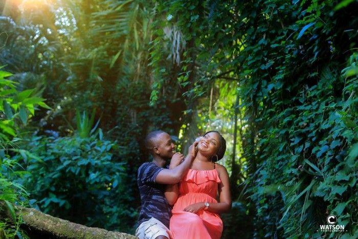 Francis and Angella at their pre-wedding wedding photo shoot