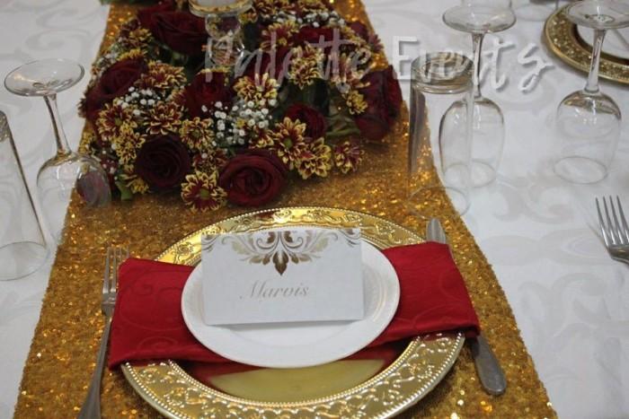 White and Gold Bridal Shower Shanghai Restaurant