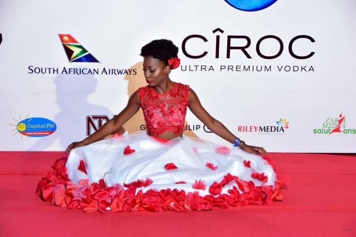 Malaika Nnyanzi at the 2017 ASFA at Serena Hotel, Kampala