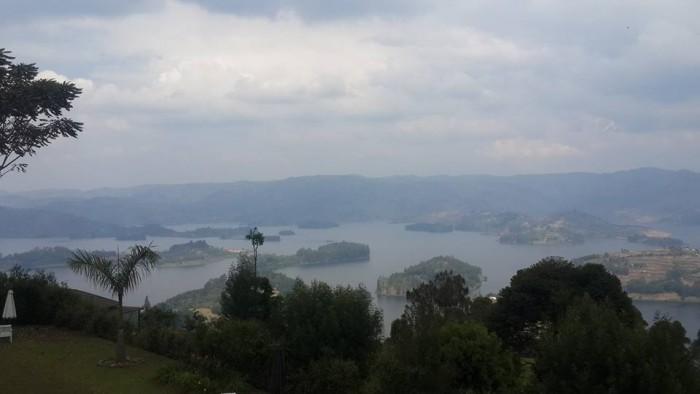 A view of Lake Bunyonyi in South Western Uganda