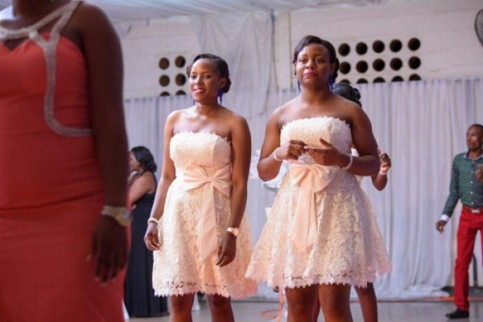 Short Maid Dresses at Bridal Lounge