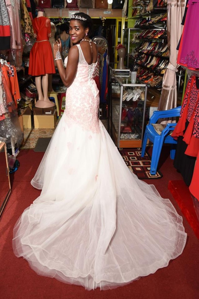 A beautiful wedding dress from Norema Boutique