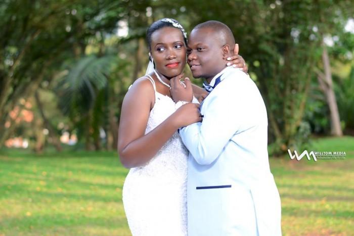 Robert weds Joanita