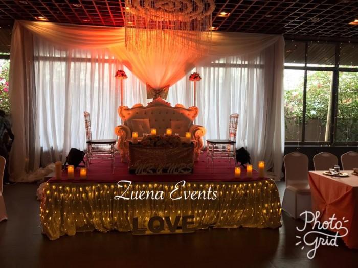 Arirang wedding decor by Zuena Events