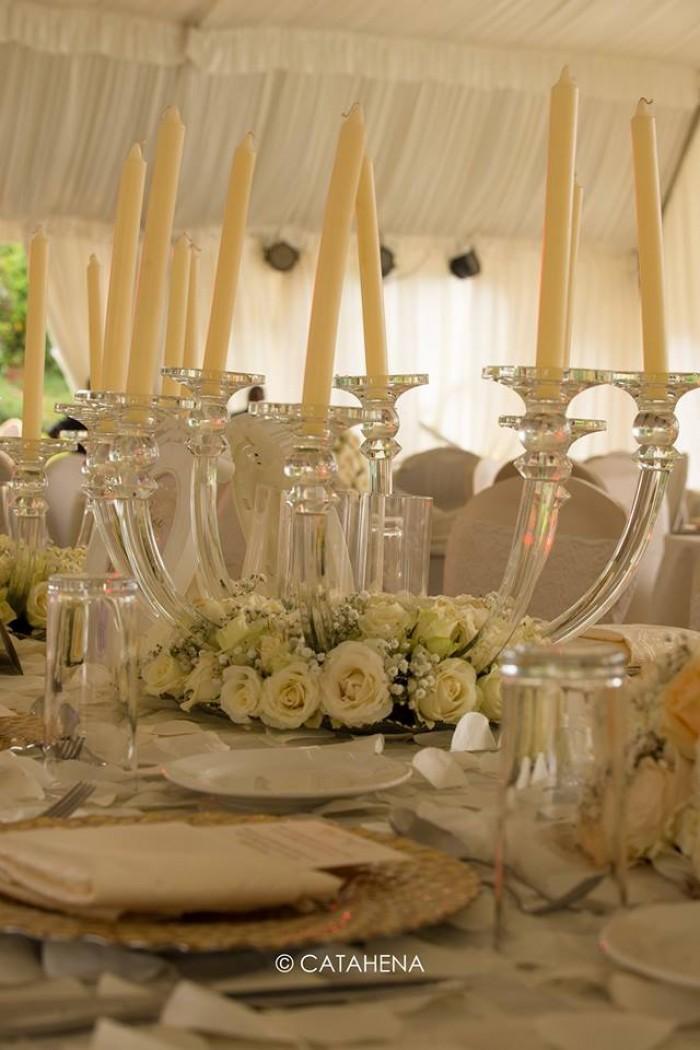 The Ivans Wedding reception Decor by Catahena