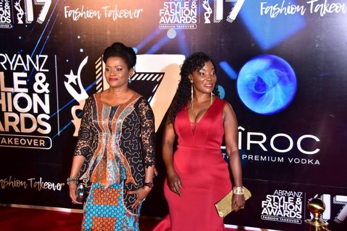 Buganda Queen Nabagereka Najjinda and KCCA's ED Jennifer Musisi at the ASFA 2017