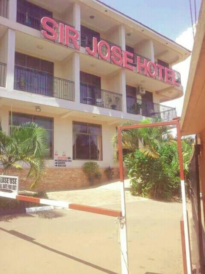Sir Jose Hotel located in Ggaba opposite Munyonyo road
