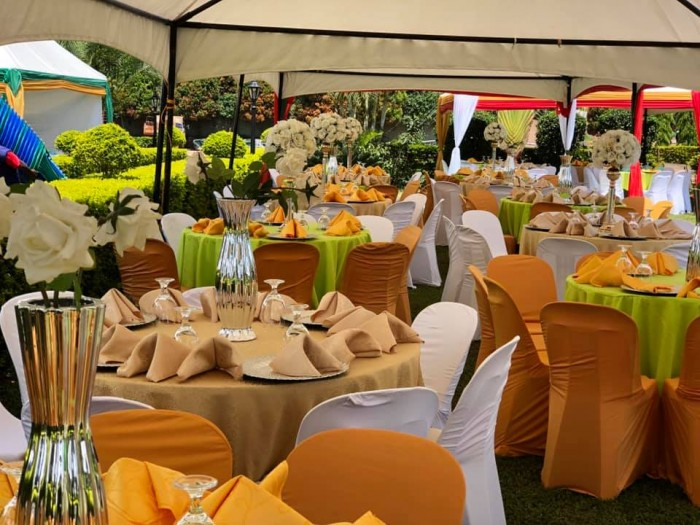 Wedding Decor at Nican Resort Hotel's outdoor venue