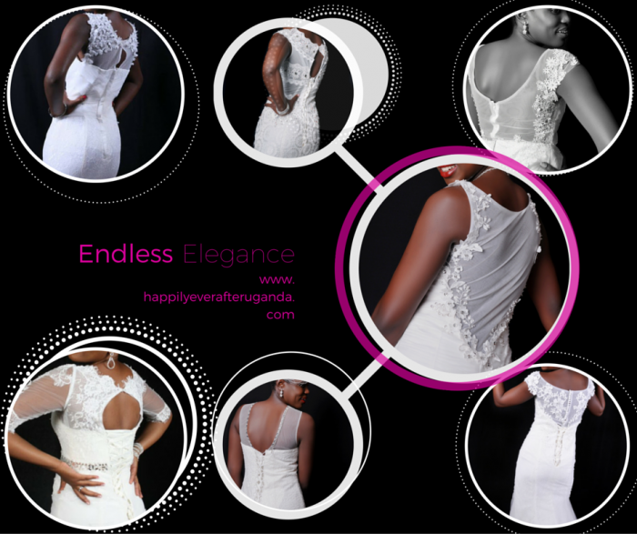 Happily Ever After Uganda today for thE trendiest wedding gowns.