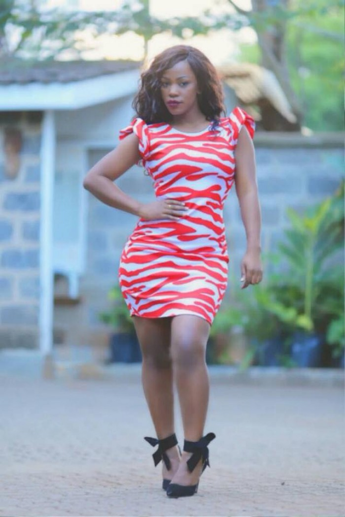 Custom made party dress by Zeal Clothing