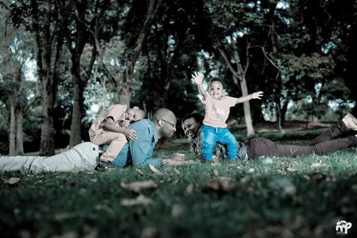 Professional Family photoshoot by Makula