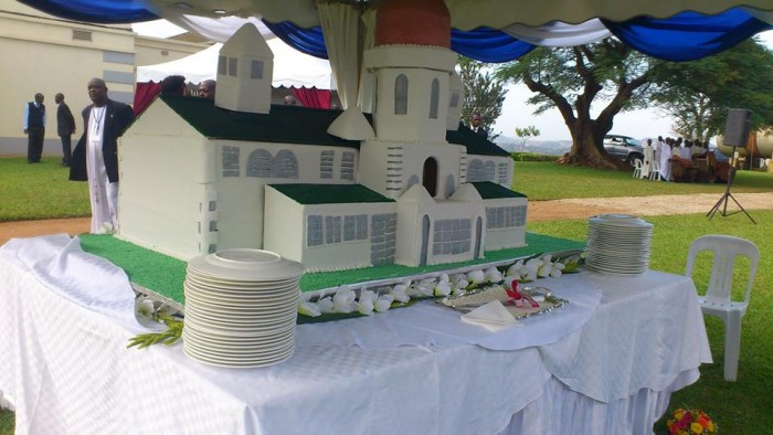 A church building inspired cake by Real Cakes Uganda