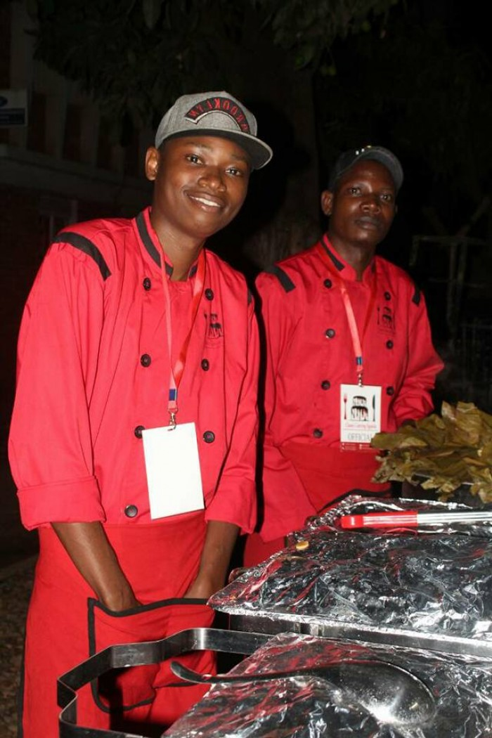 A team from Classic Catering Uganda