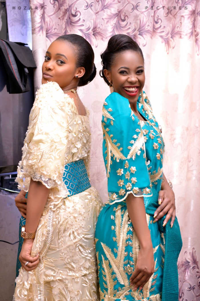 Mimi and Doreen Komuhangi as her maid of honor, shots powered by Mozart Pictures
