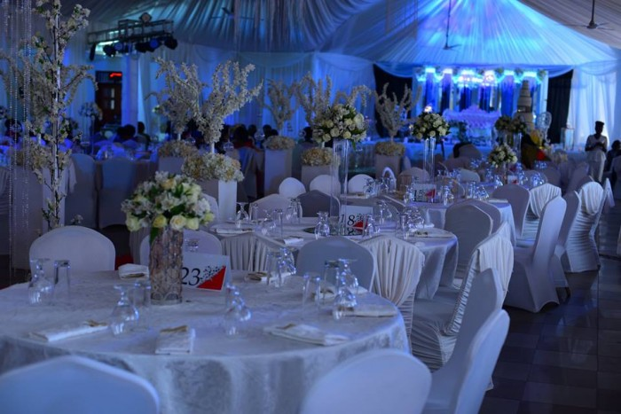 Wedding decorations by Monique Events Uganda