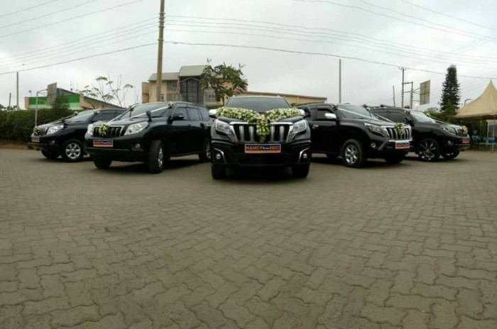 Wedding cars from Wedding Car Hire Uganda