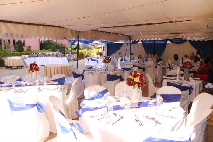Wedding decorations at Sapphire Hotel Limited