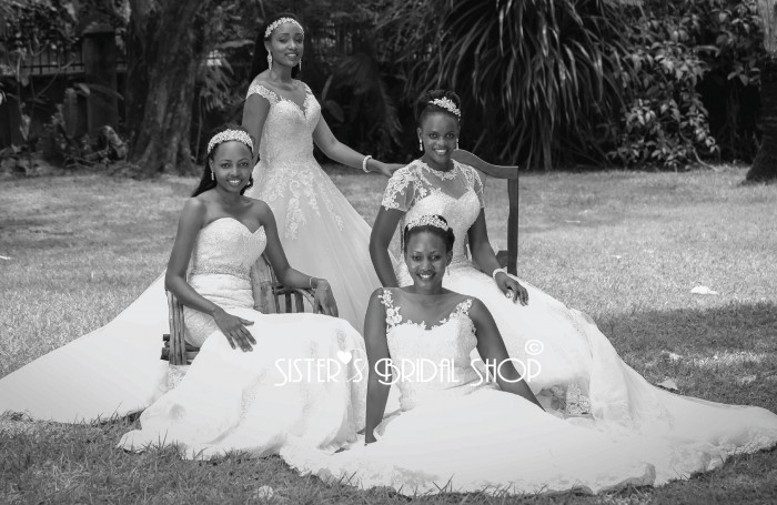 Some gowns from Sisters Bridal Shop