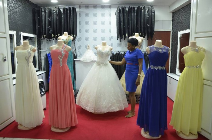 Kushona fully stocked Bridal Parlour