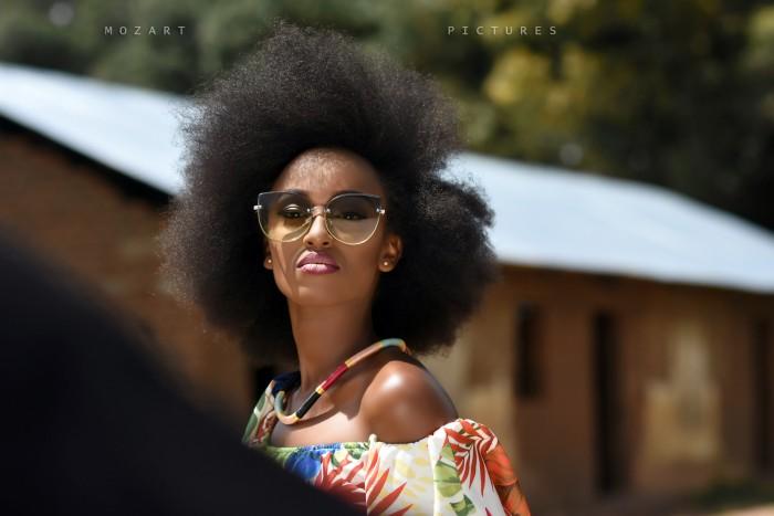 Super Model Bonita Photoshoot Taken by Mozart on Bebe Cool Video in Gulu