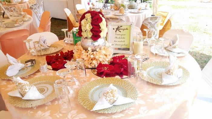 Golden Them Kwanjula Decor By Bloven Events
