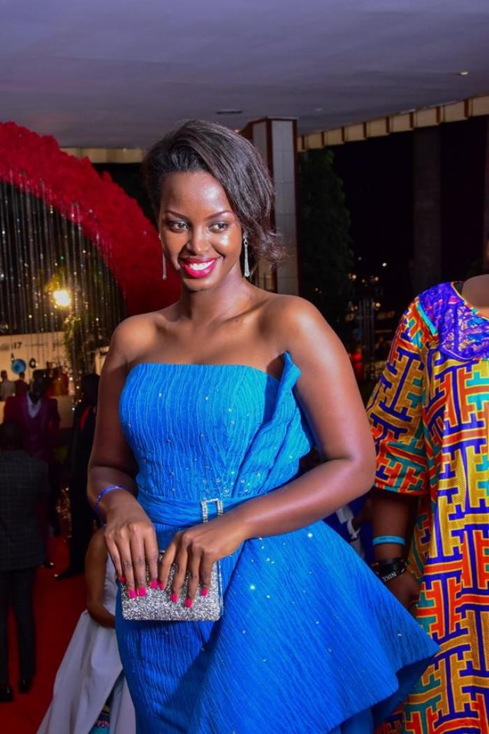Flavia Tumusiime at the ASFA 2017 at Serena Hotel Kampala, photo by Balam HD Studios