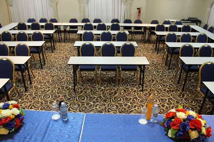 A conference room at Sapphire Hotel Limited