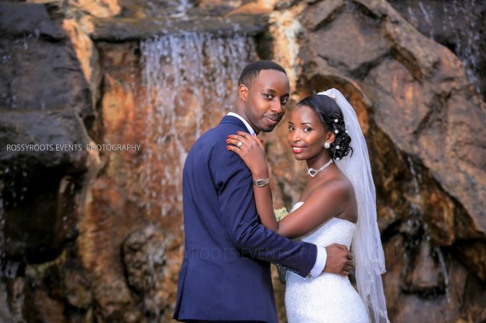 Jonathan & Phionah during their wedding photo shoot in Kampala, Uganda by Rossy Roots Events