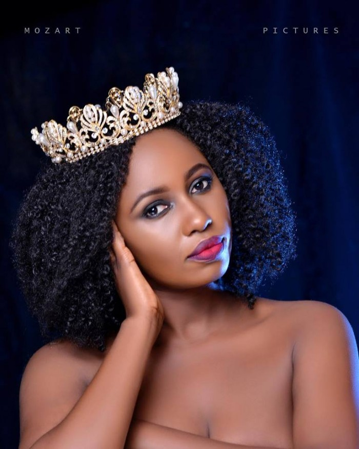 Hilda dazzles with a bridal crown from Bride to be